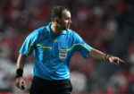 Jonas Eriksson arbitra SportingCP vs Athletic Bilbao