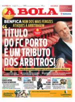 """João Gabriel: """"Título do FC Porto é um tributo dos árbitros!"""""""