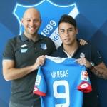 OFICIAL: Eduardo Vargas assina pelo Hoffenheim