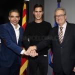 Barcelona contrata jogador e demite-o horas depois