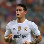 James Rodríguez foge da polícia para as instalações do Real Madrid