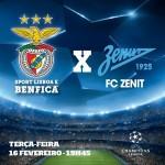 Liga dos Campeões 15/16 | Oitavos de Final: SLBenfica vs Zenit