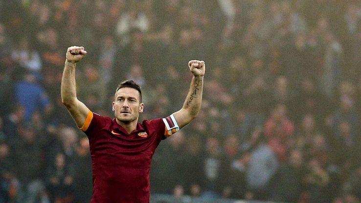 Francesco Totti pode terminar a carreira nos Estados Unidos da América