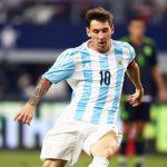 Messi suspenso por quatro jogos