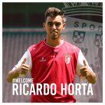 Ricardo Horta cedido ao Sporting de Braga