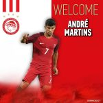 OFICIAL: André Martins no Olympiacos