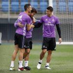 424 dias depois, Lucas Silva volta a treinar com o Real Madrid