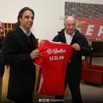 """Scolari diz que o Benfica se está a tornar numa """"potência"""""""
