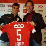 OFICIAL: Danilo Barbosa emprestado ao Standard Liège