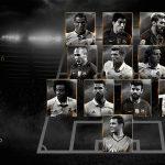 Eis o melhor onze da FIFA