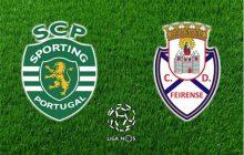 Liga NOS 16/17 16.ª jornada: Sporting CP vs Feirense
