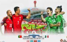 Taça das Confederações   Grupo A – Jornada1: Portugal vs México