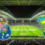 Liga NOS 17/18 | Jornada 1: FC Porto vs Estoril
