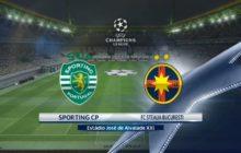 Liga dos Campeões 17/18 | Qualificação Jogo 1: Sporting CP vs Steaua Bucareste