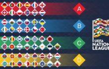 Composição da fase de grupos da Liga das Nações