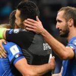 Buffon, De Rossi, Barzagli e Chiellini deixam a seleção
