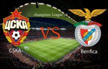 Liga dos Campeões 17/18 | Grupo A Jornada 5: CSKA Moscovo vs SL Benfica