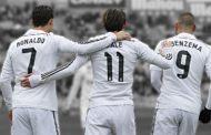 Novo tridente ofensivo do Real Madrid
