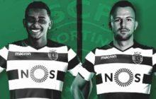 OFICIAL: Sporting CP contrata Wendel e Misic