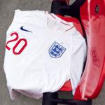 Os equipamentos de Inglaterra para o Mundial 2018