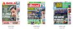Capas Jornais Desportivos 15-11-2018