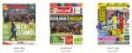 Capas Jornais Desportivos 18-11-2018