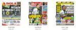 Capas Jornais Desportivos 30-12-2018