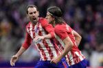 Diego Godín e Filipe Luís de saída do Atlético de Madrid