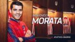 Álvaro Morata reforça o Atlético de Madrid