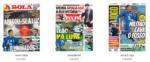 Capas Jornais Desportivos 04-01-2019