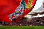 Benfica vs Anderlecht no jogo de apresentação