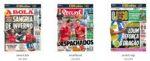 Capas Jornais Desportivos 01-02-2019