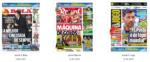 Capas Jornais Desportivos 12-02-2019
