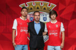 Braga segura duas jovens promessas com cláusulas de 20 e 25 milhões de euros
