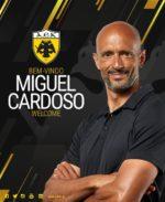 OFICIAL: Miguel Cardoso é o novo treinador do AEK