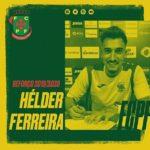 OFICIAL: Hélder Ferreira ruma ao Paços de Ferreira