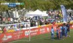 Video: Jovens param jogo contra o Sporting para dar lição aos pais