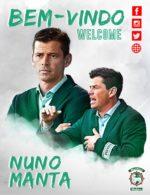 OFICIAL: Nuno Manta é o novo treinador do Marítimo
