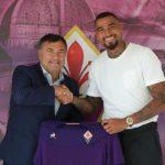 Kévin-Prince Boateng assina pela ACF Fiorentina