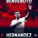 OFICIAL: Theo Hernández é  reforço do AC Milan