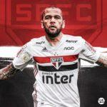 OFICIAL: Daniel Alves de regresso ao Brasil