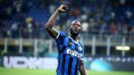 Romelu Lukaku foi surpreendido pela claque do Inter