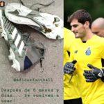 Iker Casillas voltou a treinar no relvado