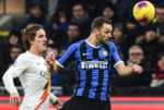 Video | Serie A 19/20:  Inter de Milão 0-0 AS Roma
