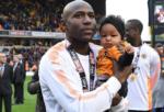 O futebol está de luto pela filha de Benik Afobe