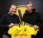 OFICIAL: Erling Haaland assina pelo Borussia Dortmund