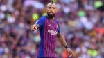 Arturo Vidal de saída do FC Barcelona