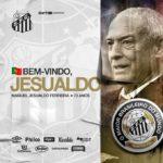 OFICIAL: Jesualdo Ferreira anunciado como novo treinador do Santos FC.