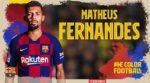 OFICIAL: FC Barcelona contrata Matheus Fernandes
