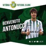 OFICIAL: Vitória FC anuncia a contratação de Mirko Antonucci